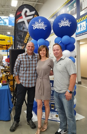 Kelly & Wendy with Bryan Bauemler